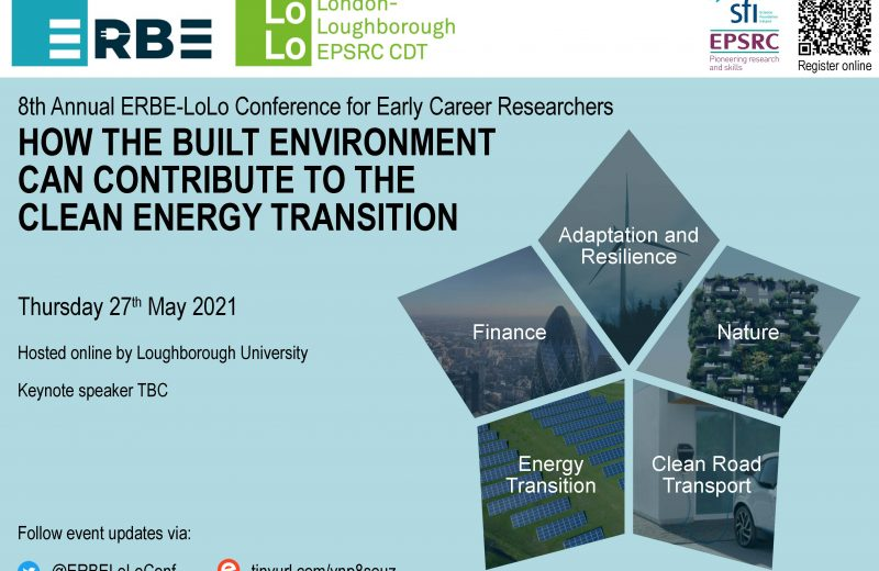 8th ERBE-LoLo Student Led Conference to be held 27 May 2021